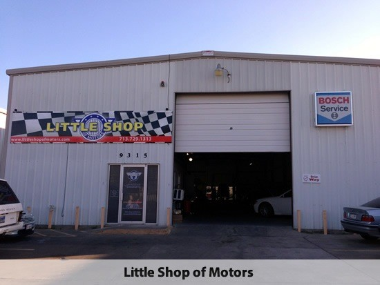 Mercedes benz repair by little shop of motors in houston Cleveland motors inc