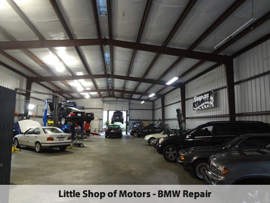 mercedes benz repair by little shop of motors in houston