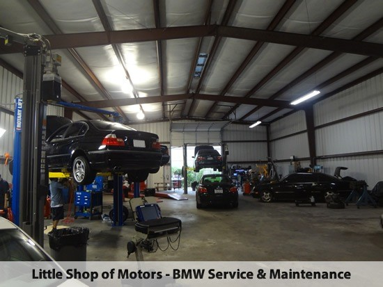 BMW Repair by Little Shop of Motors in Houston, TX | BimmerShops