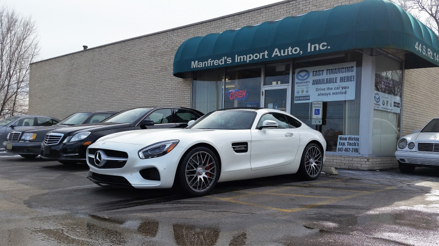 Mercedes AMG GTs service