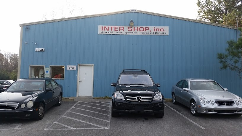 mercedes benz repair by inter shop in wilmington nc