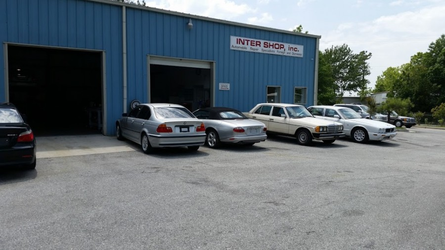 Mercedes benz repair by inter shop in wilmington nc for Authorized mercedes benz service centers near me