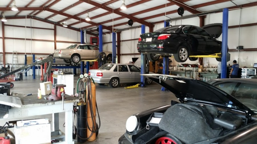 Mercedes benz repair by inter shop in wilmington nc for Mercedes benz repair shops
