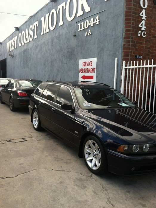 bmw repair by west coast motor in north hollywood ca