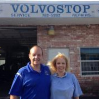 Paul & Nicki Derbyshire, Owners at Volvostop in Pompano Beach, FL