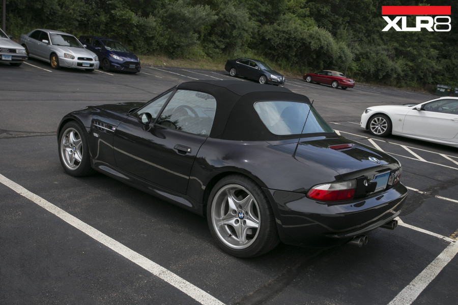 Z3M Roadster on KW Coilovers