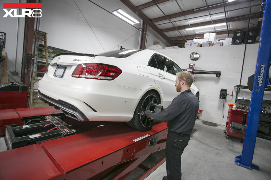 E63 Mercedes Benz Alignment