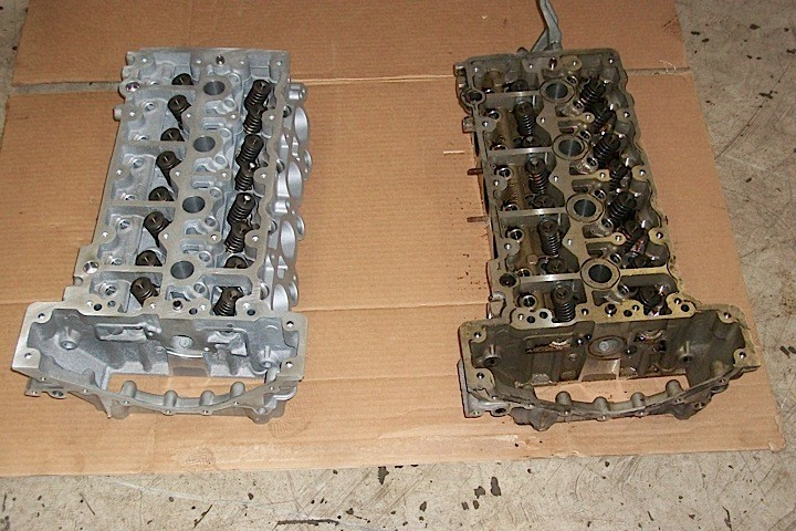 Mercedes M271 cylinder head replacement