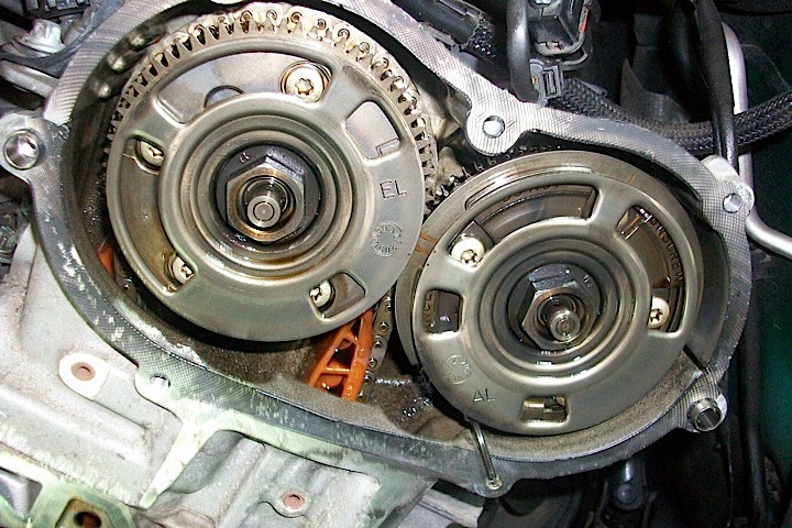 Mercedes M272 Variable Timing Adjustment