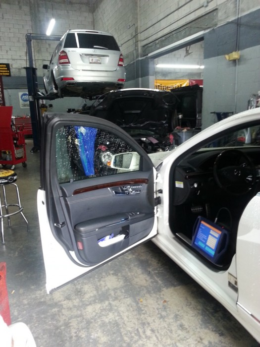 Mercedes benz repair by advanced auto diagnostics in miami for Mercedes benz service miami