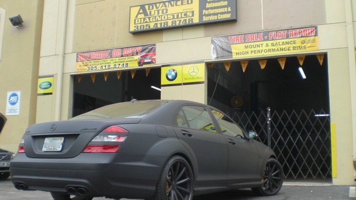 mercedes benz repair by advanced auto diagnostics in miami