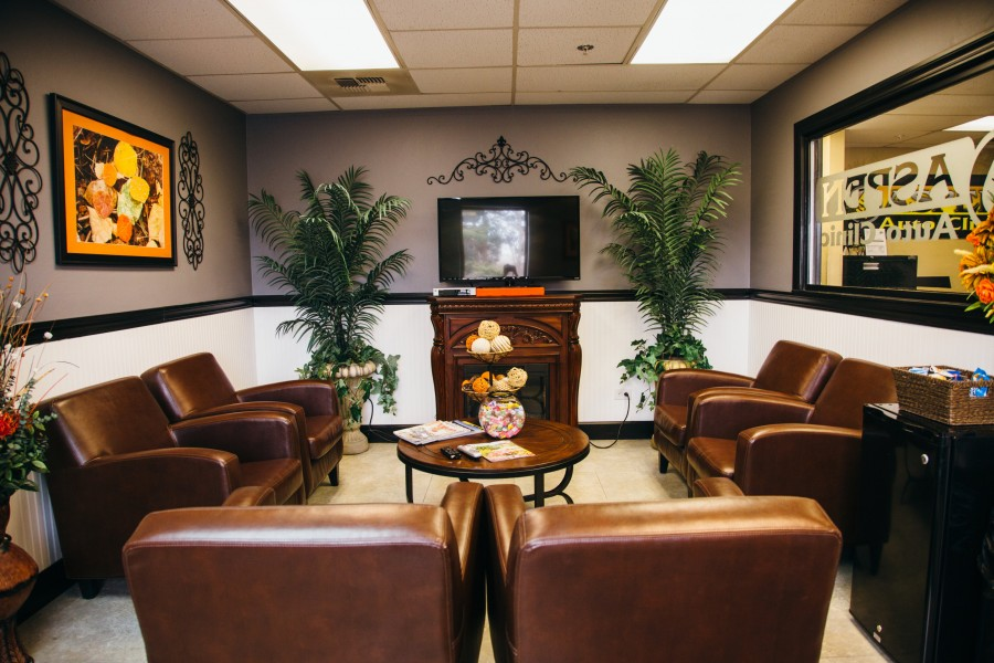 Come in and relax. We'll take care of everything.
