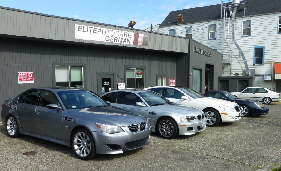 Mercedes benz repair by elite auto care in seattle wa for Mercedes benz dealership seattle