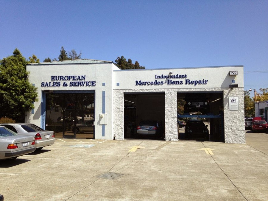 mercedes benz repair by european sales service in santa