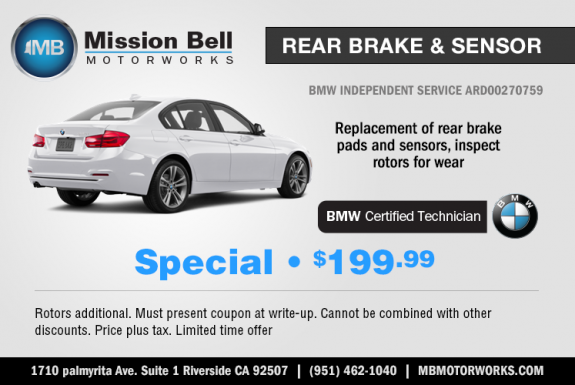 BMW Repair by Mission Bell Motorworks in Riverside, CA | BimmerShops