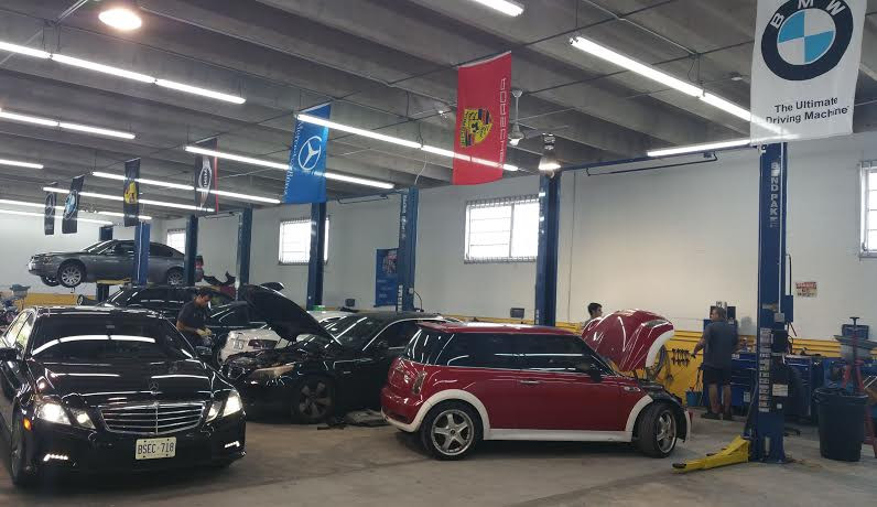 Mercedes benz repair by munich european auto in north for Mercedes benz mechanic miami
