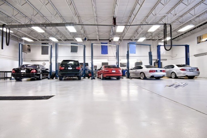 Bmw repair by eurotech auto repair in new brighton mn for Auto repair shop building plans