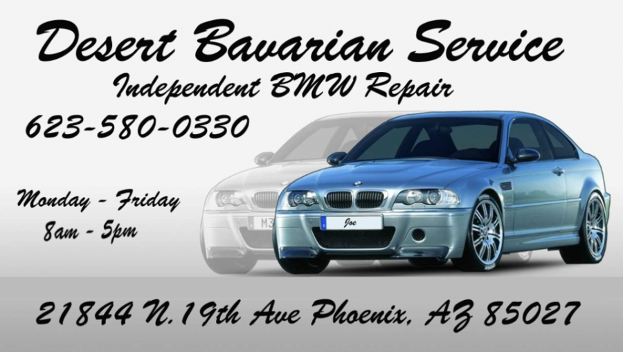 Bmw Repair By Desert Bavarian Service In Phoenix Az