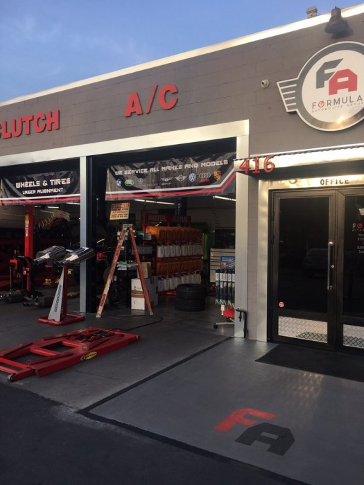 Audi Repair By Formula Automotive Group Burbank In